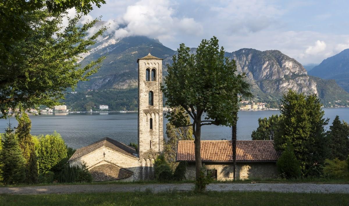 La chiesa di S. Maria di Loppia - Bellagio