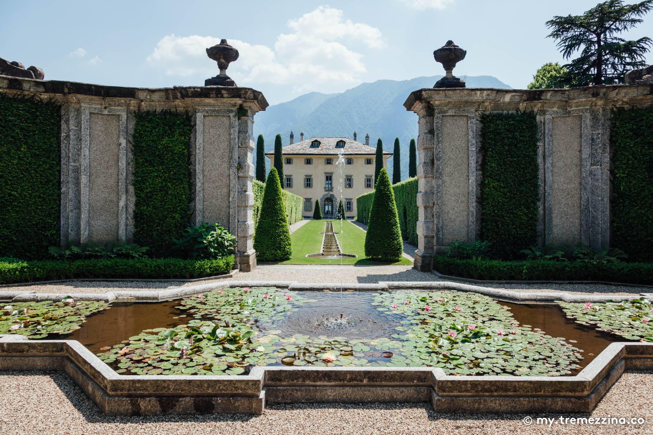 Greenway Lago di Como - Ossuccio - Villa del Balbiano