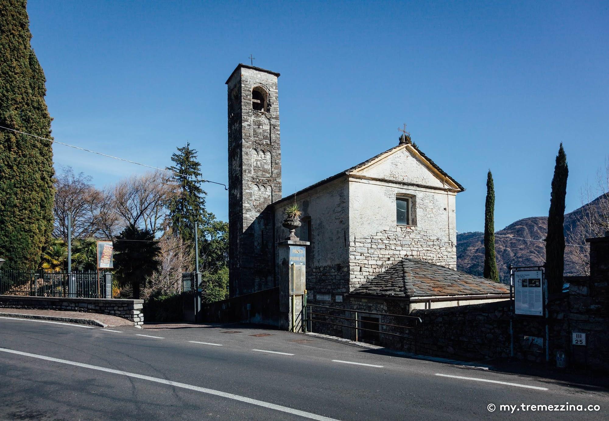 Chiesa di San Vincenzo, Tremezzina