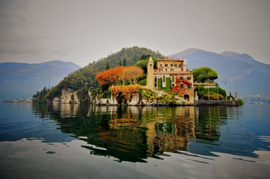 Villa del Balbianello - Autunno