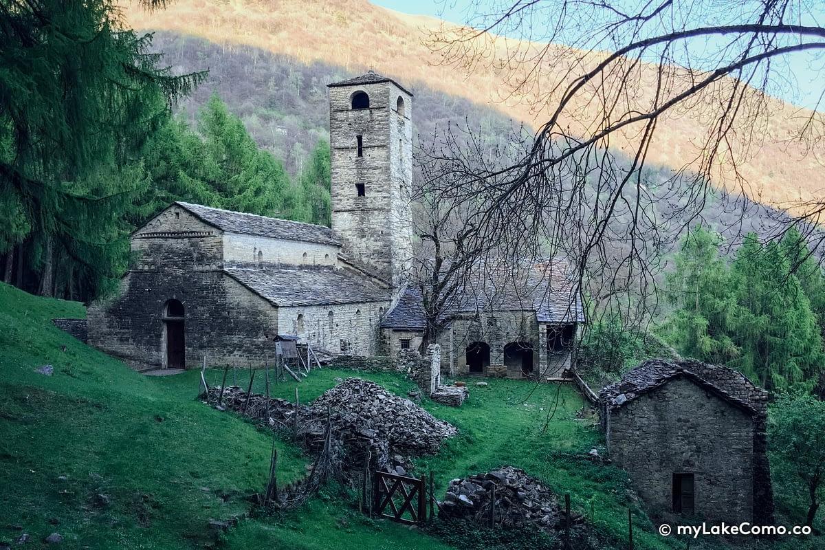 Abbazia di San Benedetto in Val Perlana - Ossuccio