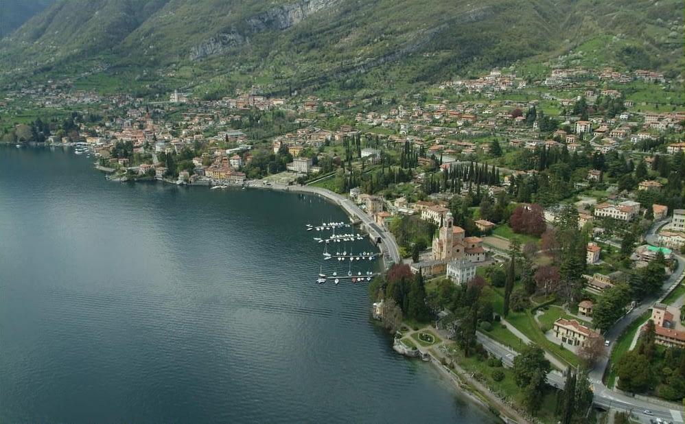 Vista aerea di Tremezzo - Lago di Como