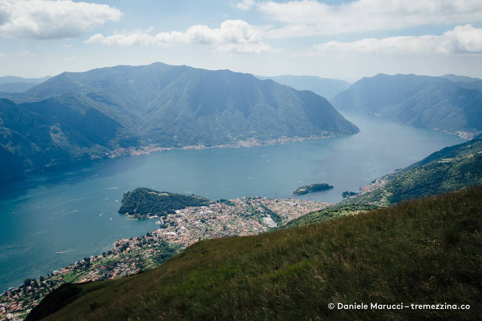 Tremezzina vista dal Monte di Tremezzo - Lago di Como
