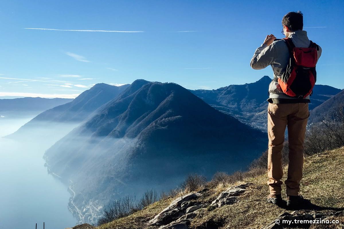 Passeggiata da Pigra all'Alpe di Blessagno