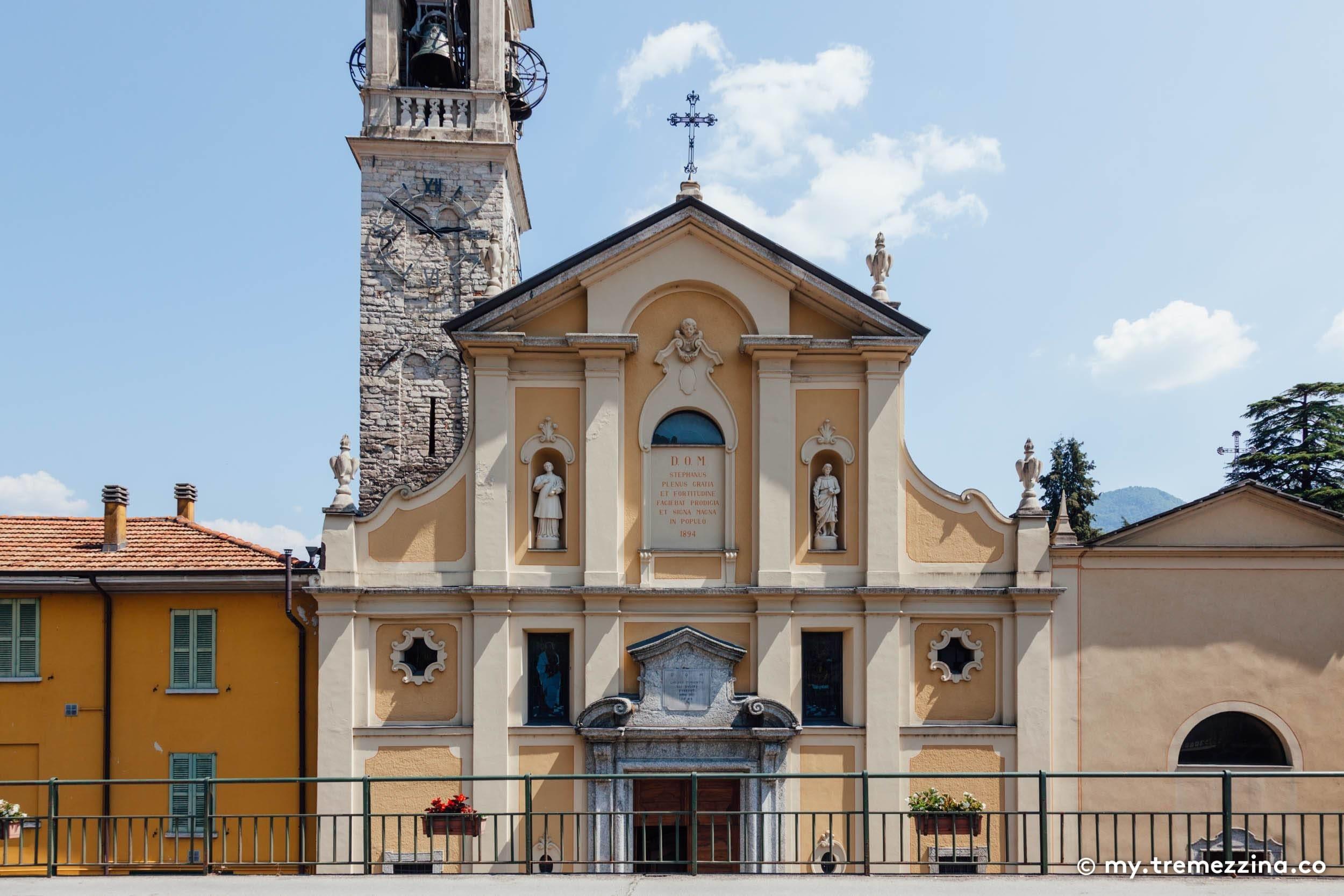 Greenway Lago di Como - Lenno - Chiesa di Santo Stefano