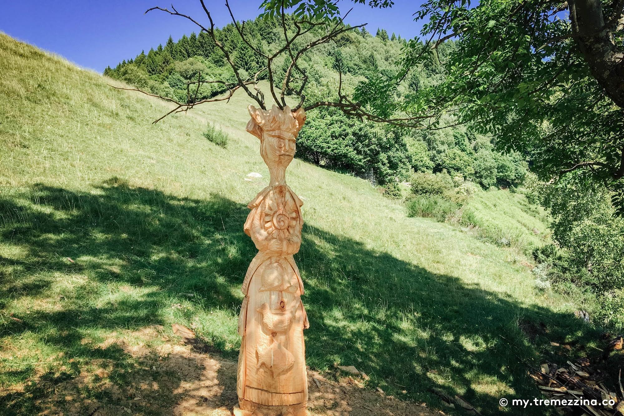 Sentiero delle Espressioni - Schignano - Val d'Intelvi