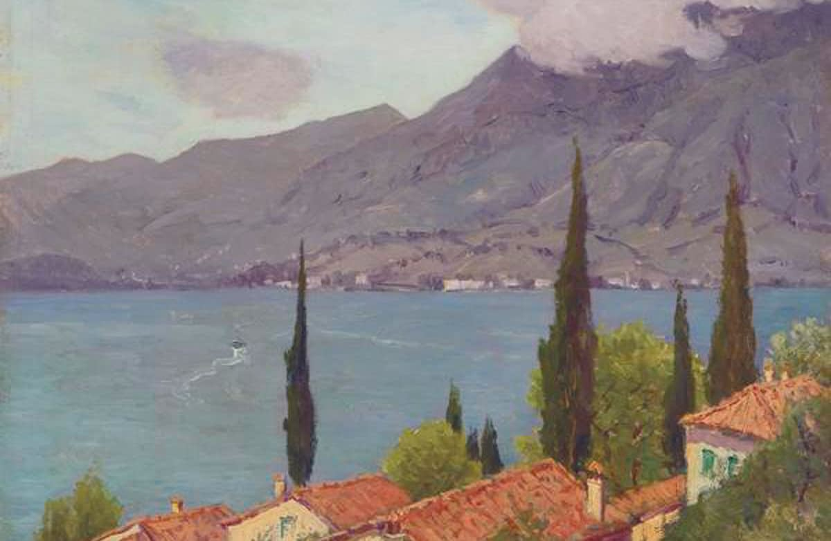 Charles Warren Eaton - Lake Como