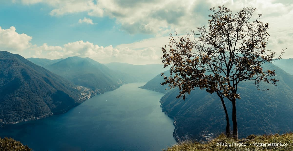 Lake Como view from Pigra