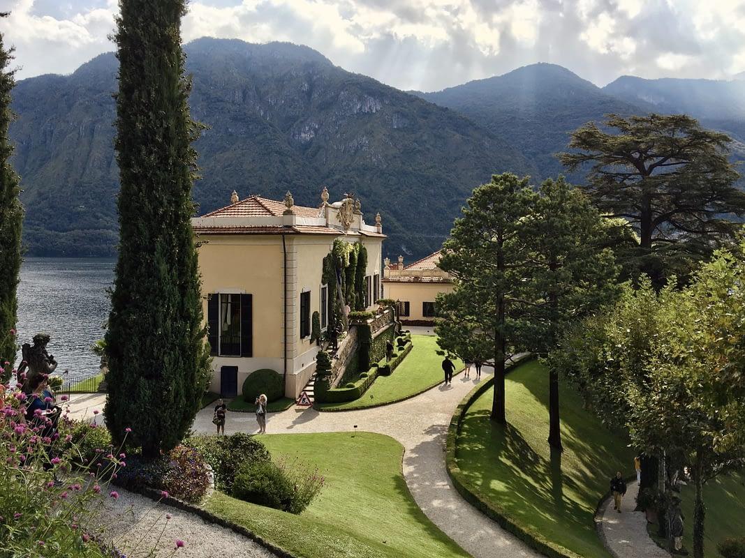 Villa del Balbianello in Autunno - Lago di Como