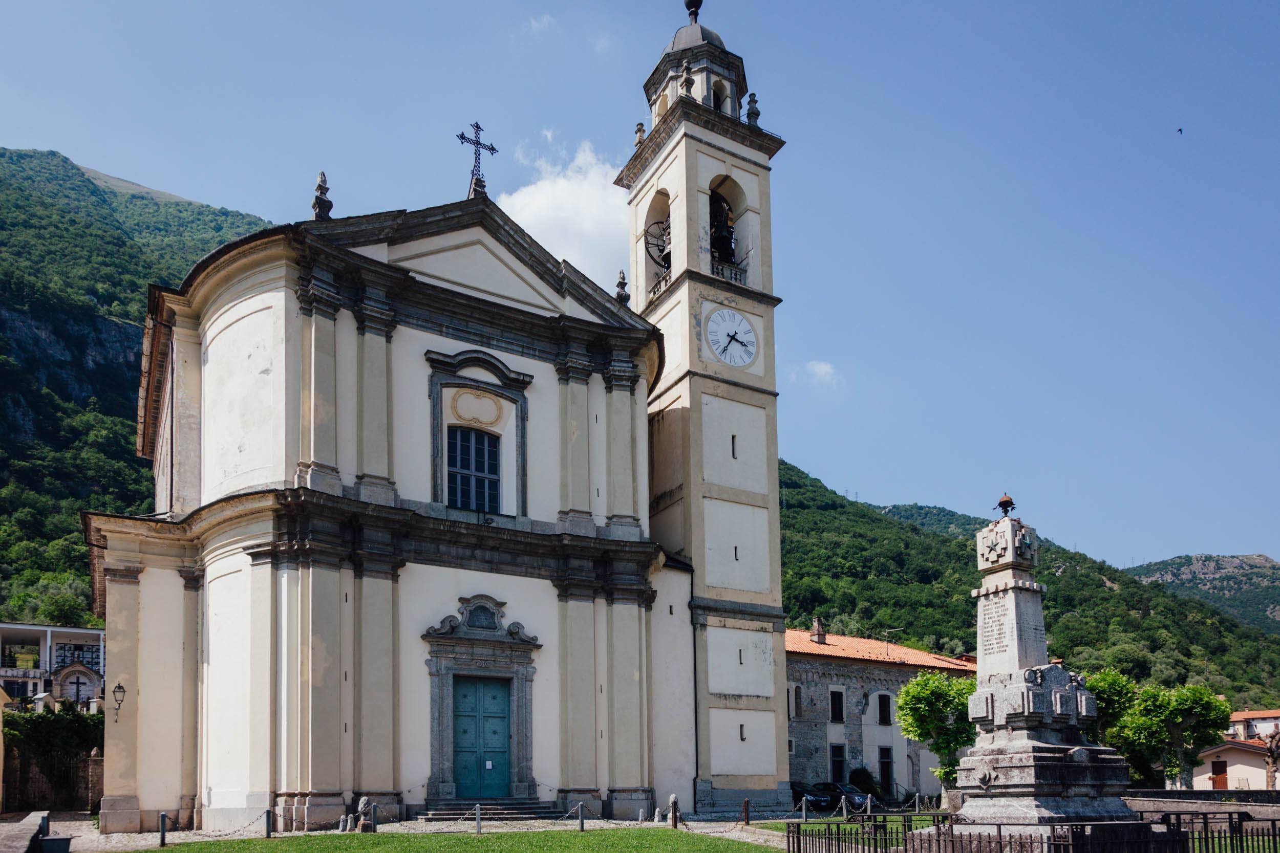 Greenway Lago di Como - Mezzegra - Chiesa di Sant'Abbondio
