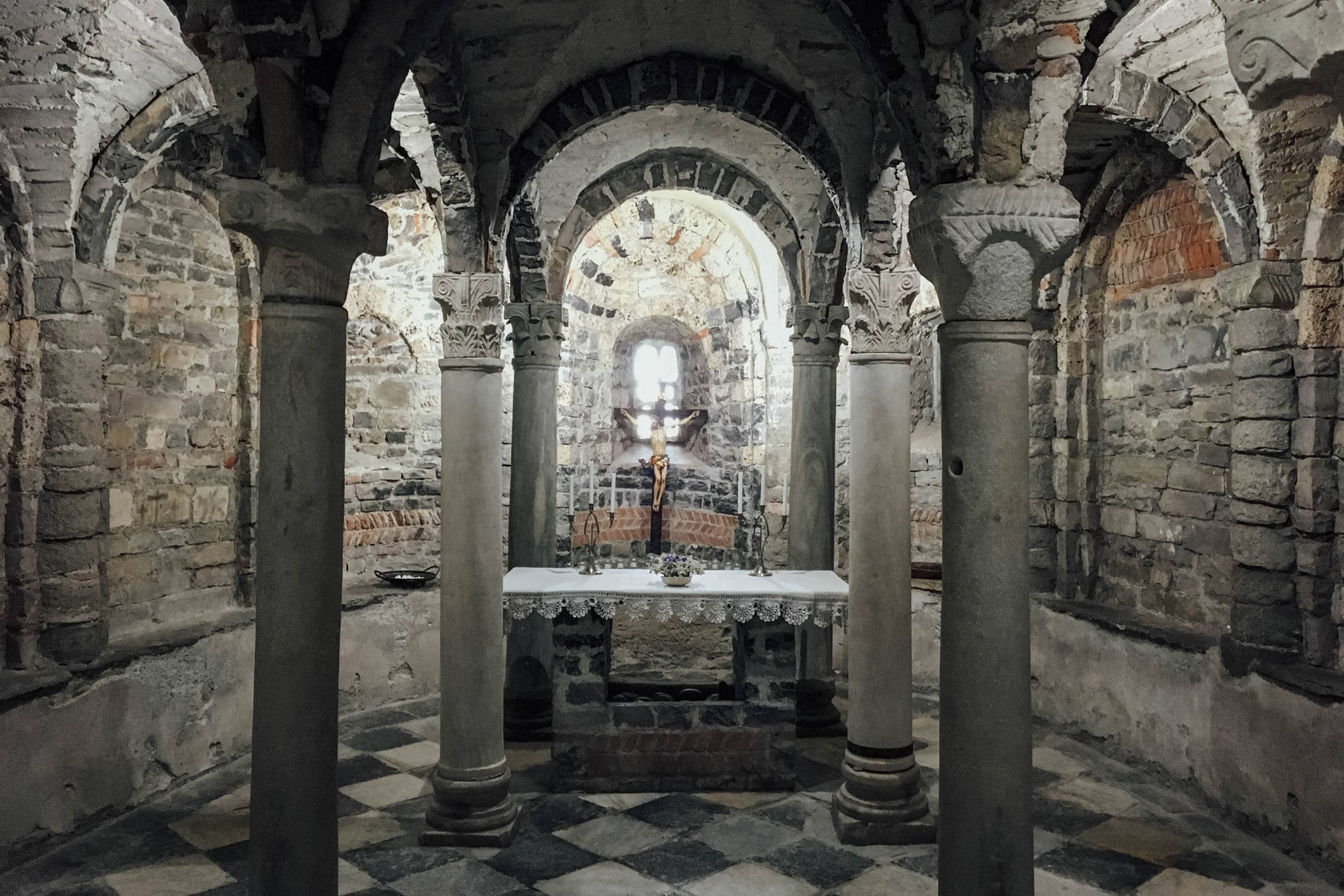 Cripta della Chiesa di Santo Stefano - Lenno - Tremezzina