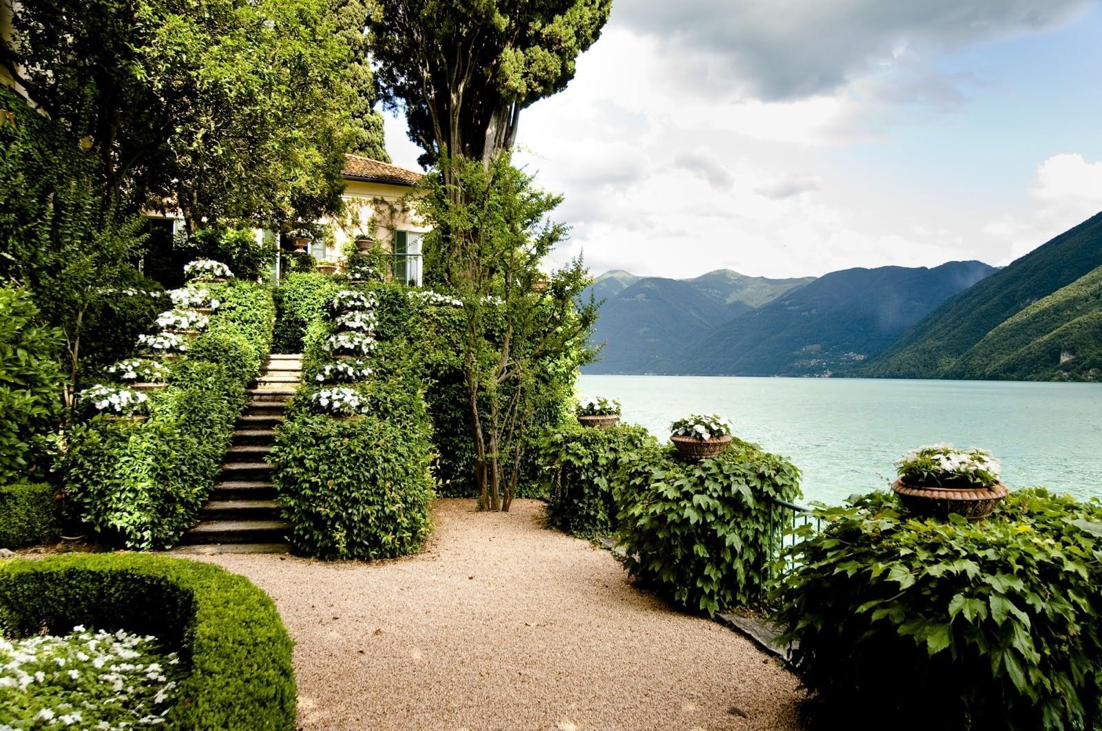 Villa Fogazzaro Roi - Giardino