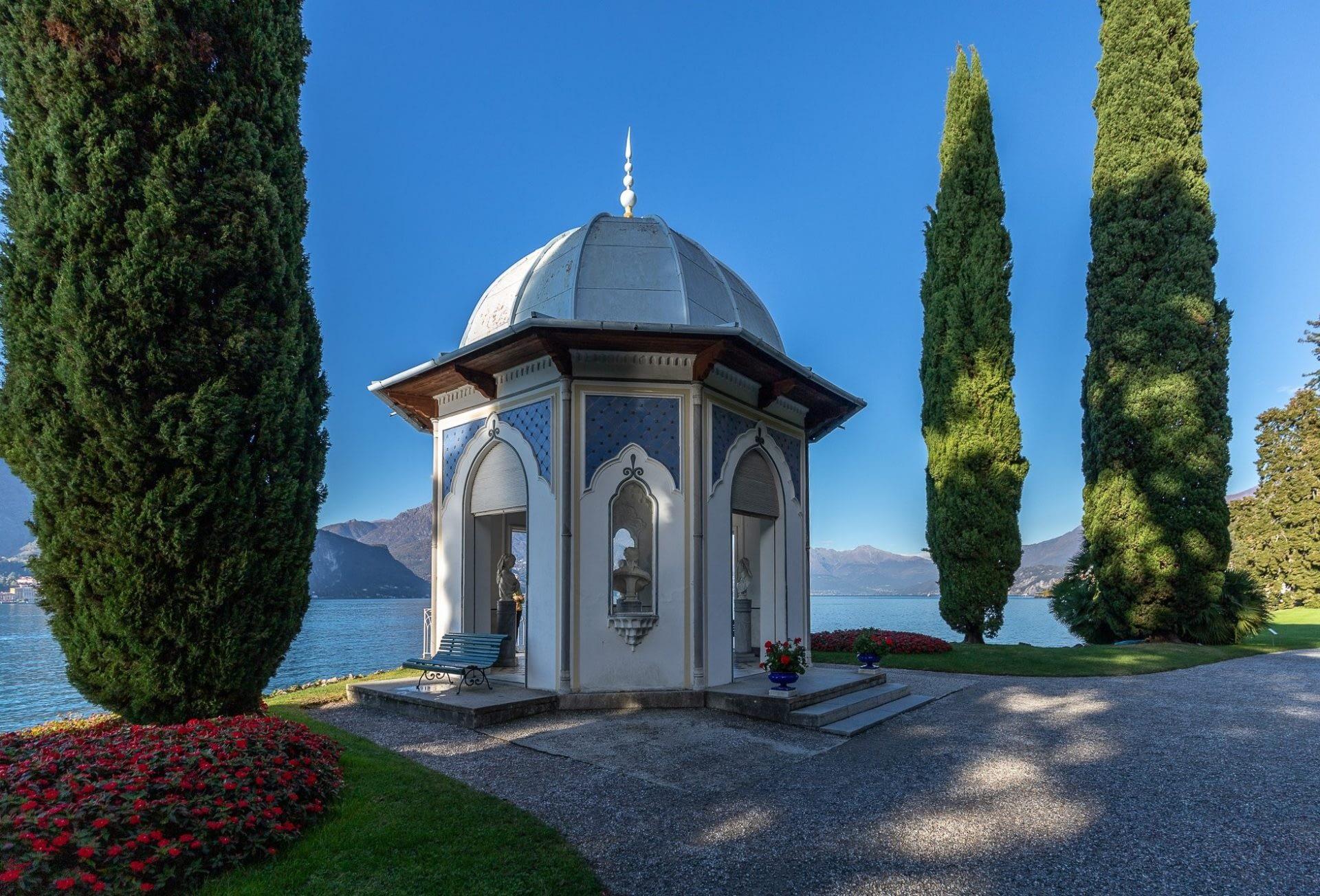 tempietto Villa Melzi