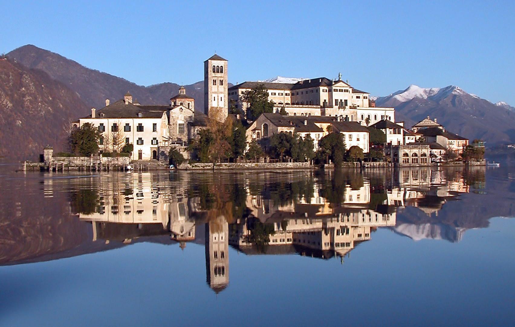 Isola di San Giulio - Lago d'Orta