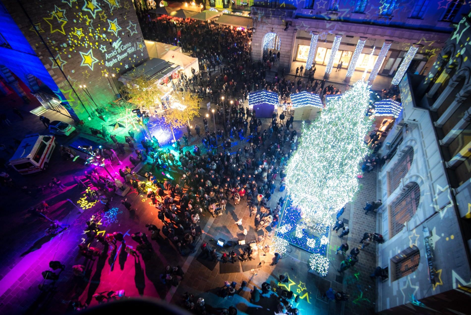 Great Christmas Tree, Como Città dei Balocchi