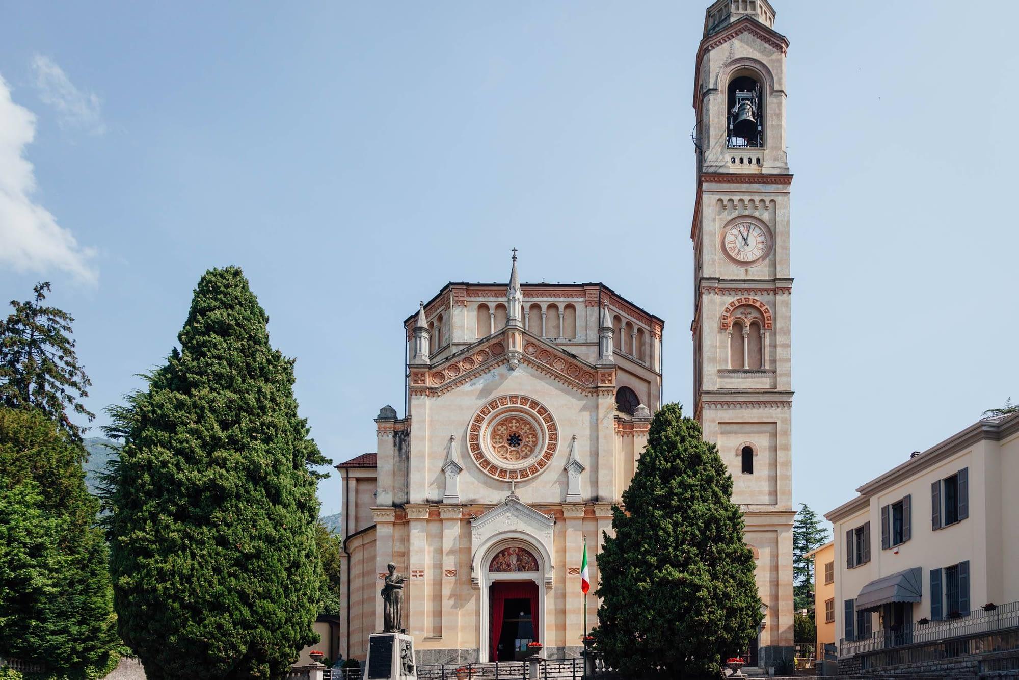 Greenway Lago di Como - Tremezzo - Chiesa di San Lorenzo