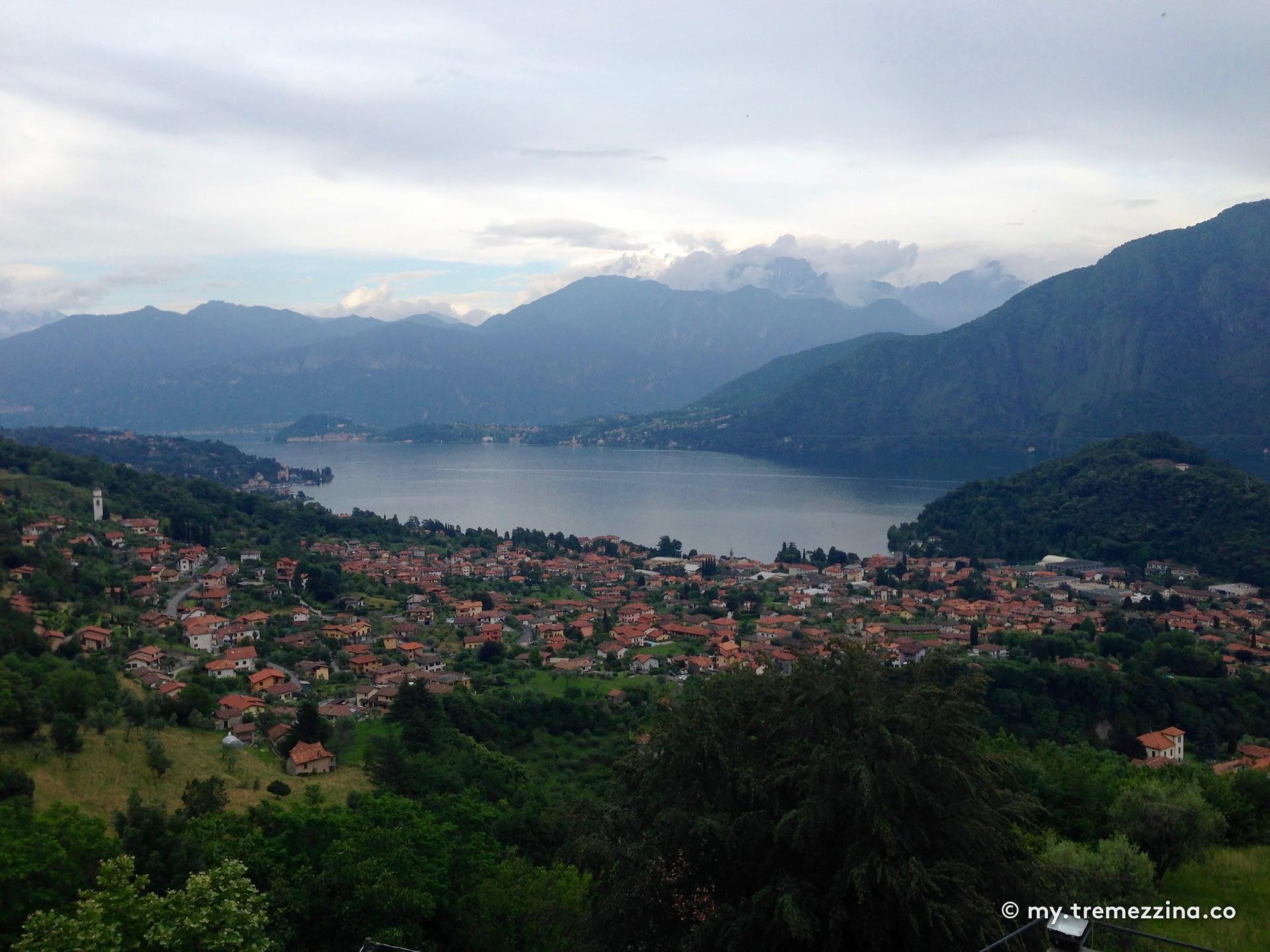 Vista da Santuario della Beata Vergine del Soccorso - Tremezzina Lago di Como