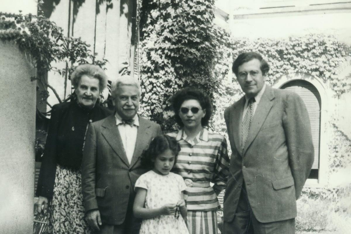 Mostra Artur Schnabel e la sua famiglia - Tremezzina