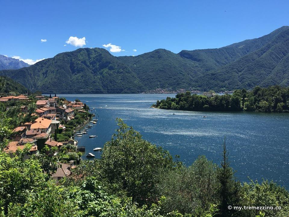 Lake Como View from Sala