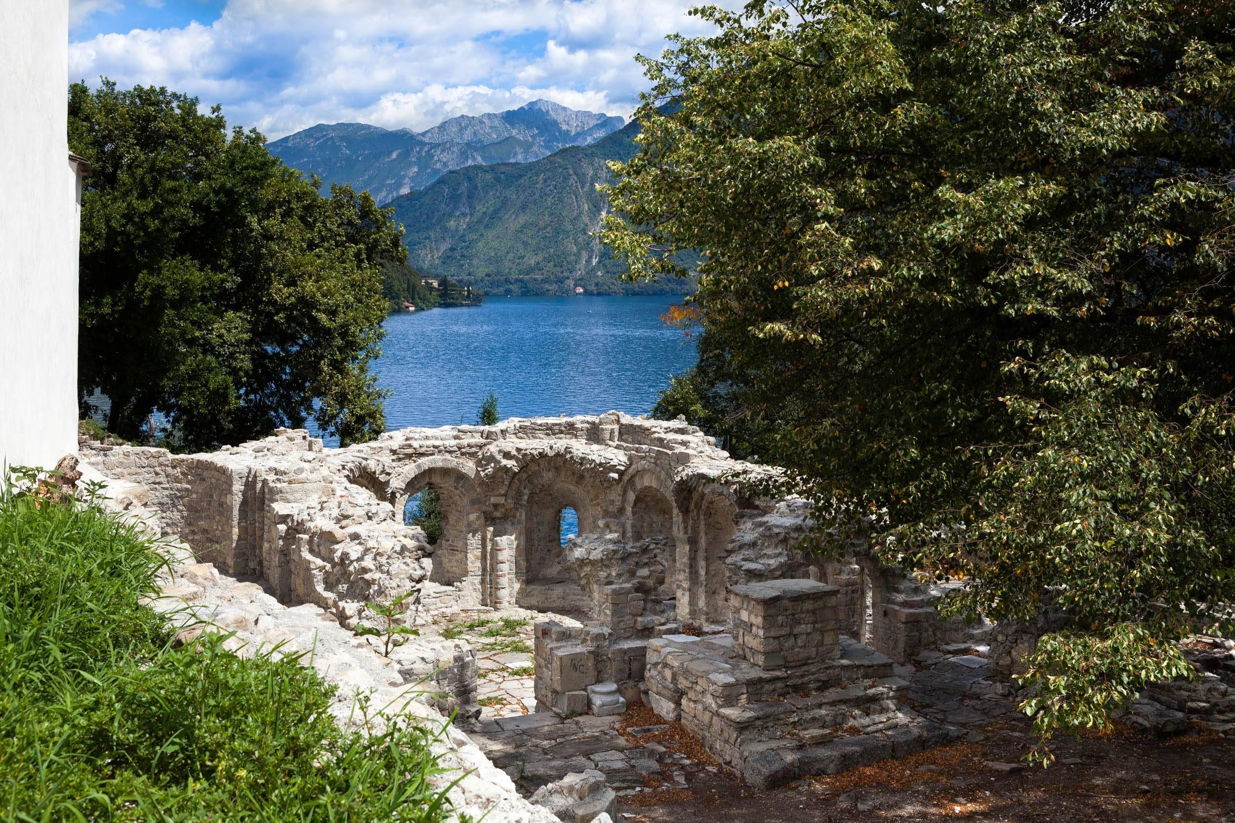 Basilica di Sant'Eufemia - Isola Comacina - Lago di Como