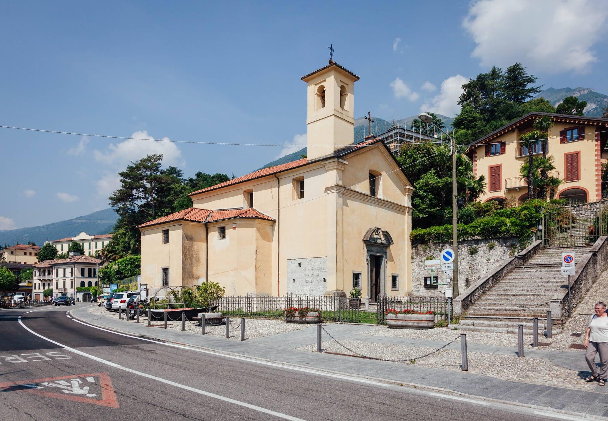 Greenway Lago di Como - Tremezzo - Chiesa di San Bartolomeo