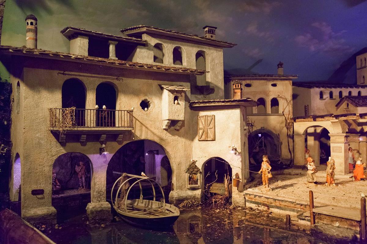 Casa dei Presepi, Mezzegra