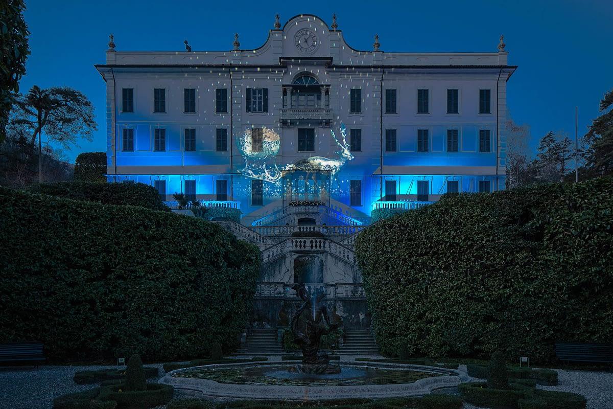 Villa Carlotta - Tremezzina - Lake Como Christmas Light