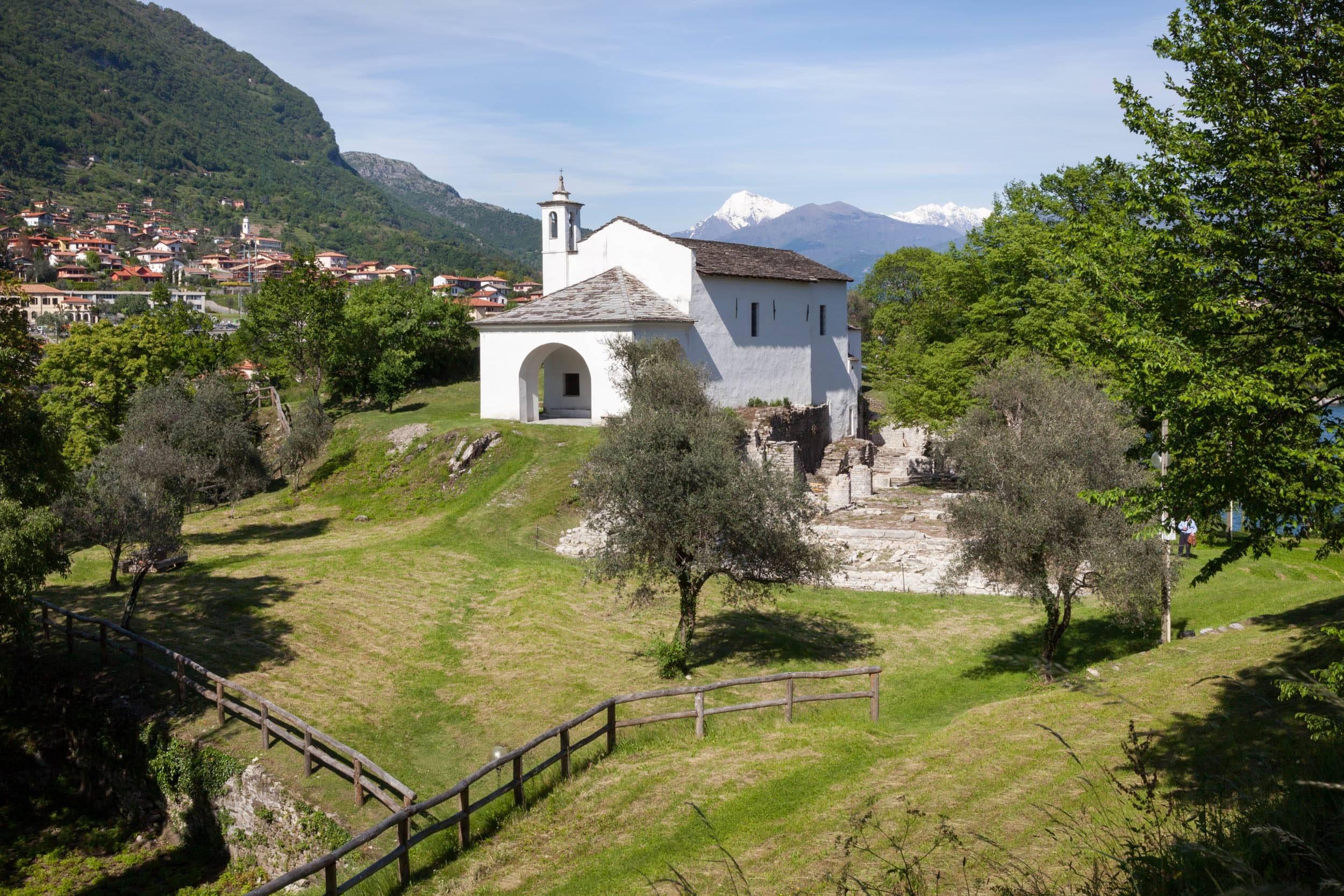 Chiesa di San Giovanni Battista - Isola Comacina